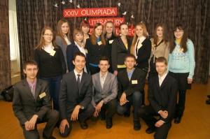 Uczestnicy olimpiady miasta Wilna Fot. Marian Paluszkiewicz