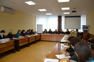 Podczas zebrania dyskutowano,w jaki sposób należy optymizowaći usprawniać świadczonądzieciom pomocspecjalistyczną