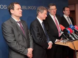 Przed posiedzeniem Rady Politycznej do jej harmonogramu prezes AWPL dorzucił dwa kolejne postulaty — termin wprowadzenia euro oraz nowelizacja Ustawy Budżetowej                    Fot. ELTA