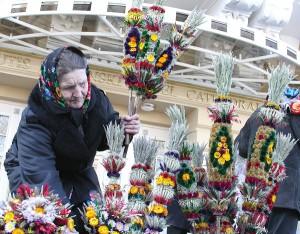 Wicie palm jest bardzo rozpowszechnione na Wileńszczyźnie Fot. Marian Paluszkiewicz