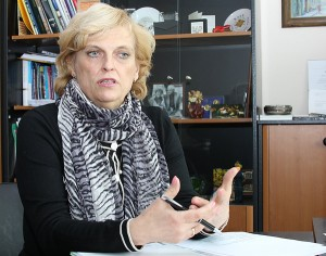 Aušrinė Burneikienė twierdzi, że niedopuszczalna jest dowolna forma wychowywania dzieci za pomocą kar fizycznych Fot. Marian Paluszkiewicz