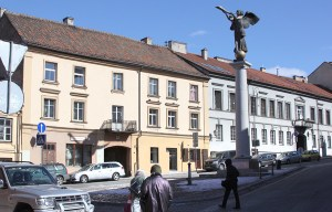 Anioł jest nie tylko symbolem Zarzecza, ale też symbolizuje odrodzenie tej dzielnicy i jej ducha wolności oraz inspiracji artystycznej Fot. Marian Paluszkiewicz