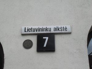 Plac Litwinów pruskich w Kłajpedzie. Mimo wielu starań Litwie nie udało się zintegrować w międzywojniu tego obszaru z resztą kraju oraz włączyć ogółu Litwinów pruskich w litewskie życie narodowe