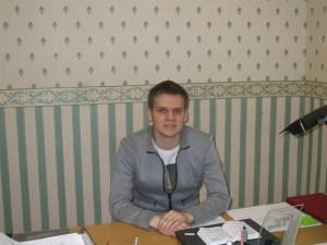 Mantas Svečulis, student II roku uniwersytetu Essex w Anglii (University of Essex) Fot. archiwum