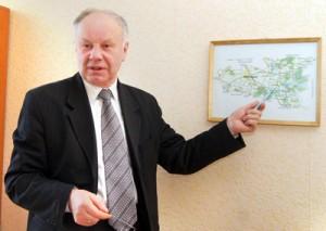 Zdaniem starosty Orszewskiego, atrakcyjne położenie i walory przyrodnicze zawsze były atutem tych terenów Fot. Marian Paluszkiewicz