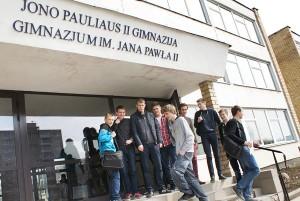 Gimnazjum im. Jana Pawła II jest jednym z najlepszych na Wileńszczyźnie   Fot. Marian Paluszkiewicz