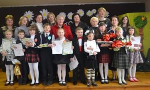 Zwycięzcykonkursuotrzymali dyplomy,nauczycielezaś – dyplomy za przygotowanieuczestników konkursu