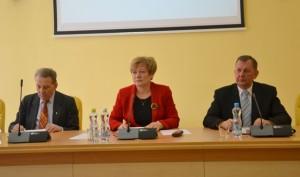 Posiedzenie Rady uwieńczyło sprawozdanie działalności mer Marii Rekść za rok 2012