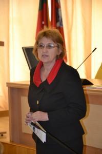 Zofia Ryżowa, zastępca kierownika Wydziału Oświaty Administracji Samorządu Rejonu Wileńskiego