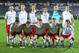 Piłkarze Polonii Wilno Fot. archiwum