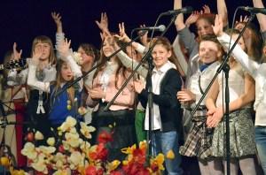 Nagrodą był sam udział w festiwalu                                 Fot. Teresa Worobiej