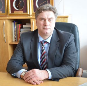 Vytautas Zalieckas - nowy mer rejonu trockiego Fot. archiwum