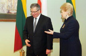 Prezydent Grybauskaitė przed kolejną kampanią prezydencką deklaruje, że jest skrajnie prawicowym politykiem, który jest przeciwny europejskim standardom w prawach dla polskiej mniejszości na Litwie Fot. Marian Paluszkiewicz