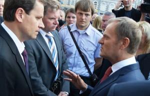 Zdaniem Tuska, trzeba wzajemnej cierpliwości i wzajemnego szacunku     Fot. Marian Paluszkiewicz
