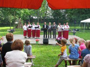 Po Mszy św., którą celebrował ksiądz-proboszcz Mirosław Balcewicz, rozpoczął się koncert