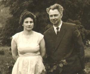 Tacy byli, kiedy się pobrali Fot. z albumu rodzinnego
