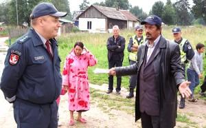 Obecnie w taborze mieszka około 500 osób, z których około 150 są dzieci Fot. Marian Paluszkiewicz