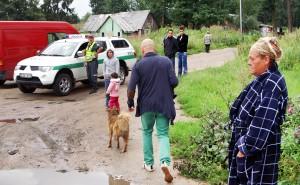 Tymczasem mieszkańcy taboru nie zgadzają się z merem Wilna Fot. Marian Paluszkiewicz