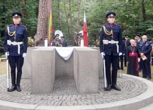 Tragicznie zakończony lot pod Pszczelnikiem — miejsce święte dla Litwinów Fot. Krzysztof Subocz