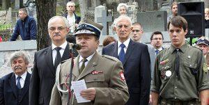 Obchodom przewodniczyli ambasador RP Jarosław Czubiński (z lewej) oraz attache obrony płk Zbigniew Szlęk<br>Fot. Marian Paluszkiewicz