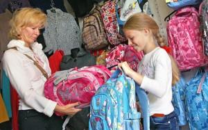 Wiele szkół już ma swoje wymagania co do plecaków Fot. Marian Paluszkiewicz