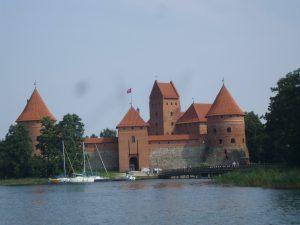 Zamek na wyspie jest jedną z największych atrakcji naszego kraju Fot. Alina Sobolewska
