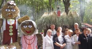 Jaszunianie zdobyli pierwszą nagrodę za najpiękniejszą zagrodę Fot. Anna Pieszko