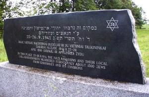 Tragedia ejszyskich Żydów zapisała się najokrutniejszą kartą w historii niemieckiej okupacji miasteczka Fot. Marian Paluszkiewicz