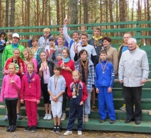 Zdobywcy 1 miejsc otrzymali medale i puchary