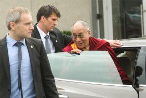 Wizyta Dalajlamy w Wilnie potrwa do 14 września Fot. ELTA