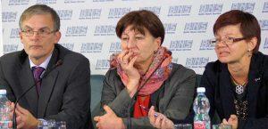 Uczestnicy konferencji zapoznali się z nowym projektem przeciw przemocy<br/>Fot. Marian Paluszkiewicz
