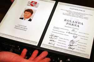 Po 10 latach ograniczeń Rolandas Paksas znowu będzie mógł kandydować na prezydenta, jeśli nie w wyborach 2014 roku, to w 2019 roku raczej na pewno<br/>Fot. Marian Paluszkiewicz