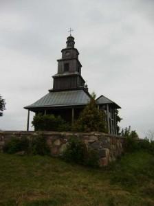 Kościół w Dryświatach, gdzie był proboszczem Teofil Wyrwicz, zmarły w roku 1803<br/>Fot. Andrzej Sznajder
