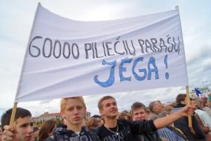 Wola obywateli, wyrażona przez 60 tys. podpisów, została zignorowana Fot. Marian Paluszkiewicz