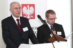 Henryk Szymański, Radca-Minister, kierownik WPHI w Wilnie   Fot. Marian Paluszkiewicz