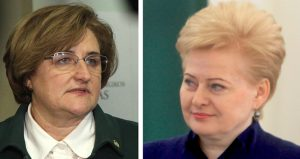 Loretra Graužinienė    Dalia Grybauskaitė