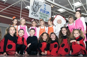 Można było podziwiać też pomysłowe stroje dzieci  Fot. Marian Paluszkiewicz