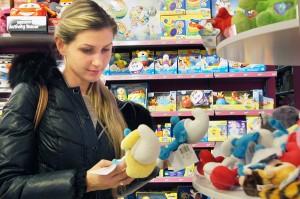 Wybór zabawek jest ogromny      Fot. Marian Paluszkiewicz