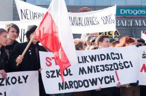Słowa krytyki i pochwały zawarte w raporcie mają na celu sprawienie, by Litwa stała się silniejszą, bardziej tolerancyjną w kwestii ochrony — mniejszości narodowych            Fot. Marian Paluszkiewicz