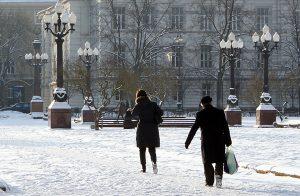 Podczas mrozów należy pamiętać o zimowych zasadach bezpieczeństwa  Fot. Marian Paluszkiewicz