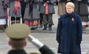 Po przeciągającym się milczeniu prezydent Dalia Grybauskaitė ogłosiła wreszcie, że będzie ubiegała się o reelekcję w tegorocznych wyborach prezydenckich Fot. Marian Paluszkiewicz