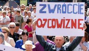 Po ponad 20 latach oczekiwania na zwrot ojcowizny większość wileńskich Polaków może liczyć na rekompensatę w wysokości najwyżej kilkunastu tysięcy litów za hektar ziemi... Fot. Marian Paluszkiewicz