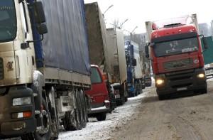 Litewscy przewoźnicy nie wykluczają, że przeciągające się kłopoty finansowe i gospodarcze Rosji poważnie ograniczą ich eksport Fot. Marian Paluszkiewicz