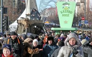 Jarmark co roku gromadzi tysiące ludzi i odbywa się w samym sercu starówki Fot. Marian Paluszkiewicz