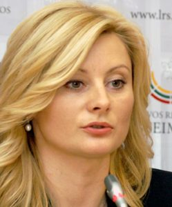 Rita Tamašunienė Fot. Marian Paluszkiewicz