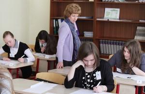 Ósmoklasiści też się chcą wykazać wiedzą z języka ojczystego  Fot. Marian Paluszkiewicz