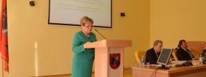 Mer Maria Rekść złożyła obszerne sprawozdanie za rok 2013