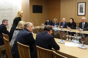 W czasie spotkania z frakcją AWPL poruszona została także sprawa kar Fot. Krzysztof Białoskórski