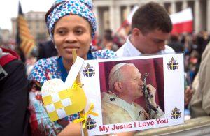 Proces kanonizacyjny Jana Pawła II trwał zaledwie 9 lat                                                                Fot. ELTA
