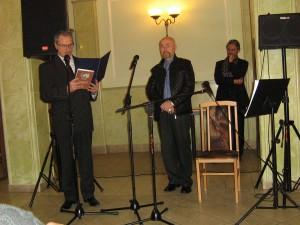 Aleksander Nawrocki otrzymał Złoty Pierścień z Orłem Fot. Teresa Markiewicz